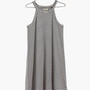 Madewell District Dress In Stripes